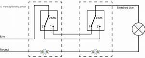 2 way switch wiring diagram light wiring for Wiring diagram two way switch uk