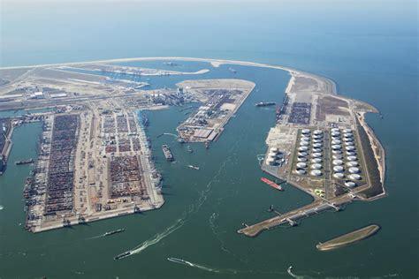 le port de rotterdam le port de rotterdam en repli sur les neuf premiers mois