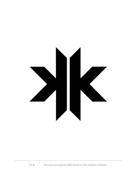 kk monogram graphis