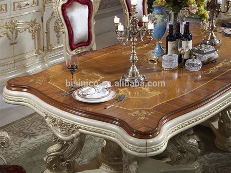bisini luxury italian style dining tablefrench royal
