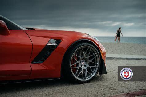daytona orange  corvette  puts  brushed titanium