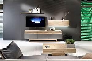 Meuble Salon Bois : table de salon design en bois convertible organo au design allemand ~ Teatrodelosmanantiales.com Idées de Décoration