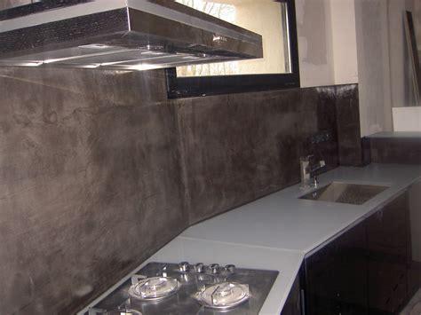 beton cire pour credence cuisine crédence béton ciré cr dence de cuisine b ton cir c b