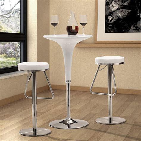 Modern White Leather Bar Stools by 35 Stylish Modern Adjustable White Leather Bar Stools