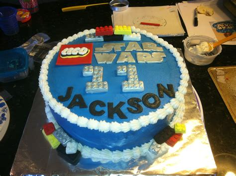 lego wars birthday cakes cakecentral
