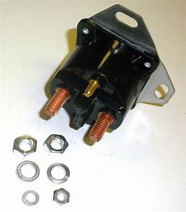 12792 Rotary Starter Solenoid Compatible With Cub Cadet