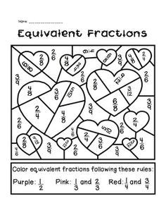 calculated colouring images math activities
