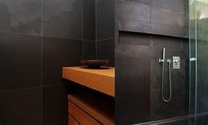 davausnet salle de bain ardoise et bois avec des With ardoise pour salle de bain