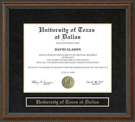 of at dallas utd diploma frame wordyisms