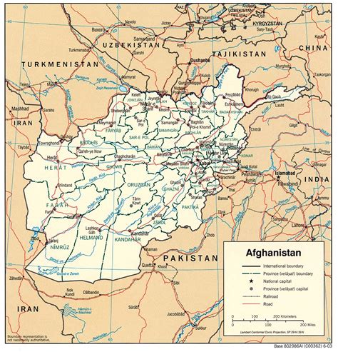afghanistan maps perry castaneda map collection ut