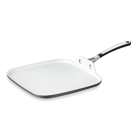 Calphalon Kitchen Essentials Nonstick Square Griddle by Simply Calphalon 174 Ceramic Nonstick 11 Inch Square Griddle