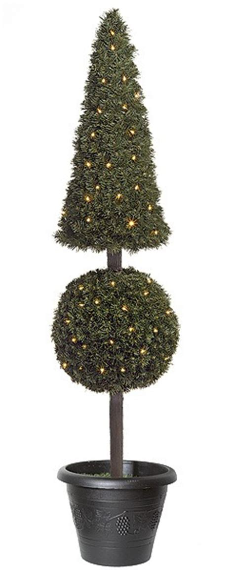 Artificial Topiary Trees, Outdoor Topiary, 5 Feet Pyramid