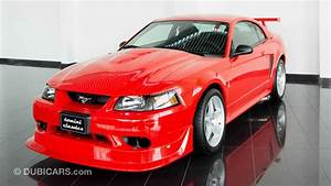 Ford Mustang SVT Cobra R for sale: AED 235,800. Red, 2000