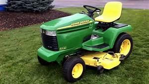 John Deere 345 Garden Tractor