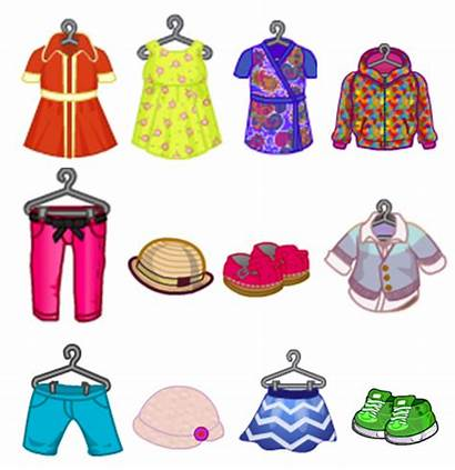 Spring Clipart Clothes Clip Line Costume Season
