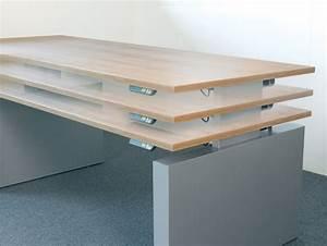 Bureau Plan De Travail : steelnovel mobilier de bureau design avec r glage du plan de travail en hauteur ~ Preciouscoupons.com Idées de Décoration