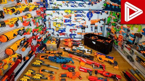 Top 10 Crazy Nerf Gun Collections & Nerf Gun Arsenals