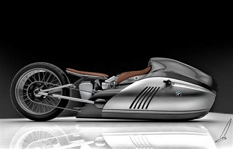 » Concept Alpha Motorcycle Future Technology