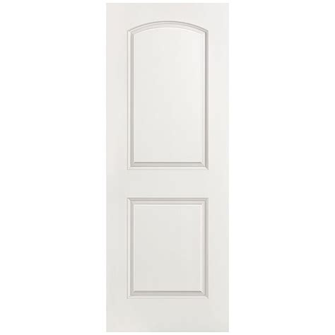 doors interior home depot masonite 28 in x 80 in smooth 2 panel top