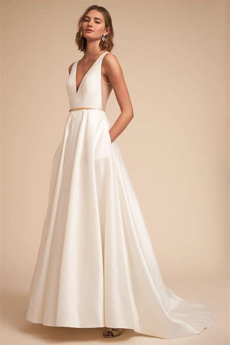 Fashion Forward Bhldn Wedding Dresses For The Modern Bride