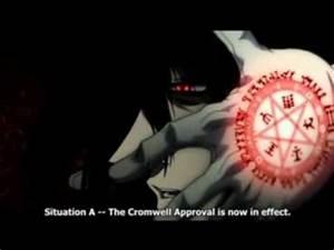 Hellsing - Alucard vs Luke Valentine - YouTube