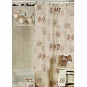 beach shower curtain the sarasota seashell shower With seashell shower curtain bathroom set