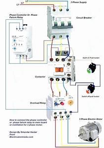 55 Unique Dol 3 Phase Starter Wiring Diagram