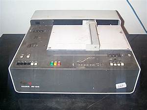 Chart Recorder  Xy  Haake  Model Rv100