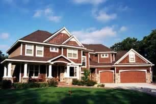 Harmonious Craftsman Style House Plans Two Story by Craftsman Style House Plans 4171 Square Foot Home 2