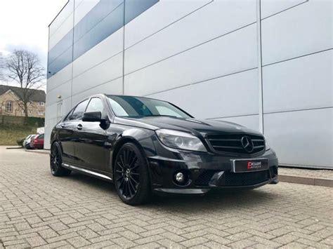 2009 Mercedes-benz C63 Amg 6.3 Saloon + All Black + High