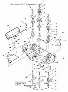 Murray 2690519 - 107 277741  50 U0026quot  Mower Deck  2005  Parts Diagram For 44