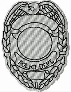 Blank Police Badge | www.pixshark.com - Images Galleries ...