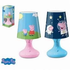 Lampe De Chevet Sans Fil : lampe de chevet peppa pig sans fil ~ Teatrodelosmanantiales.com Idées de Décoration