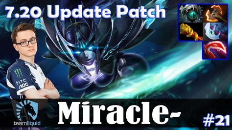 miracle phantom assassin mid 7 20 update patch dota 2 pro mmr gameplay 21 youtube