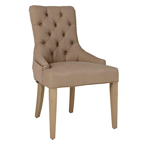 Buy Neptune Henley Upholstered Linen Dining Chair