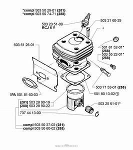 Husqvarna 281  2001 Cylinder