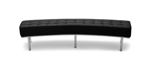 canapé faux cuir monte carlo sofa bench eileen gray style faux leather