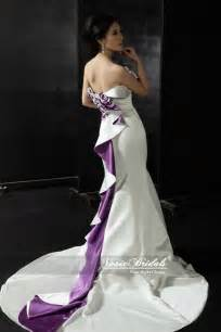 purple dresses for wedding purple and white wedding dresses