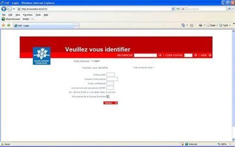 Phishing  Un Site Pirate De La Caf Appâte Les Internautes