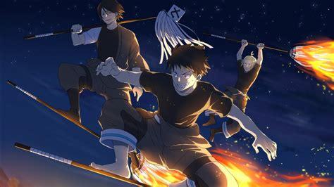 fire force shinra kusakabe takehisa hinawa hd anime