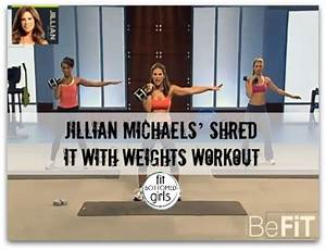 Jillian Michaels' Shred It With Weights Workout