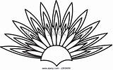 Drawing Duster Feather Cap Getdrawings Feathers sketch template