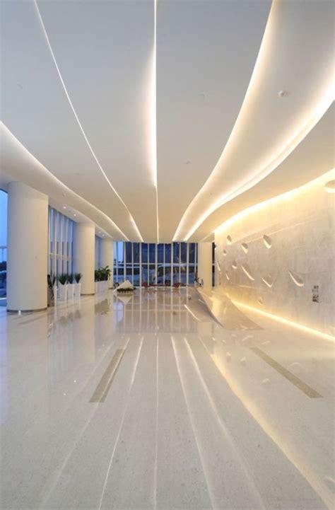 bureau contemporain bois vous cherchez des idées pour comment faire un faux plafond