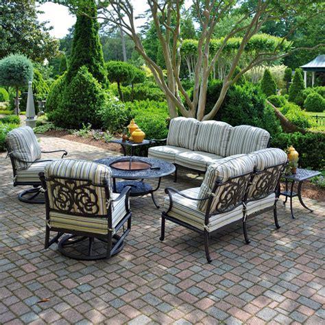 patio sets cast aluminum labadies patio furniture