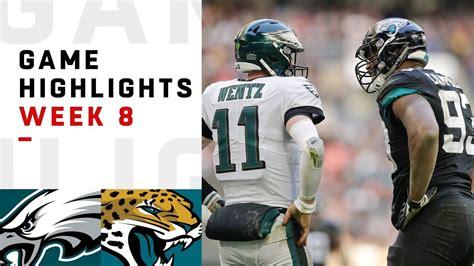 eagles  jaguars week  highlights nfl  youtube