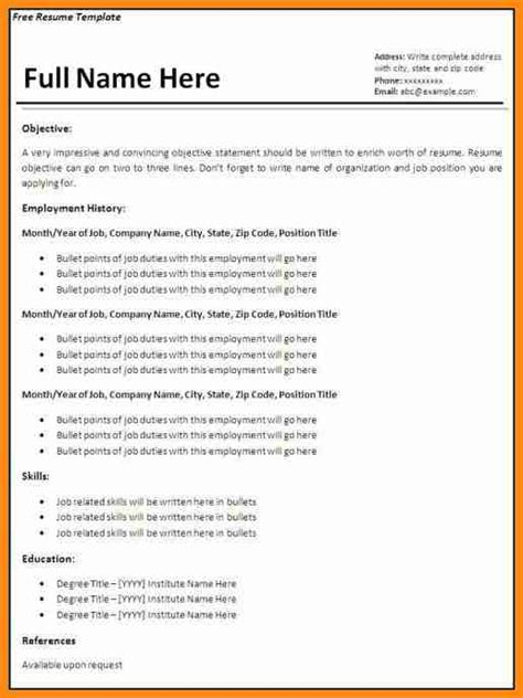 5 cv template open office musicre sumed