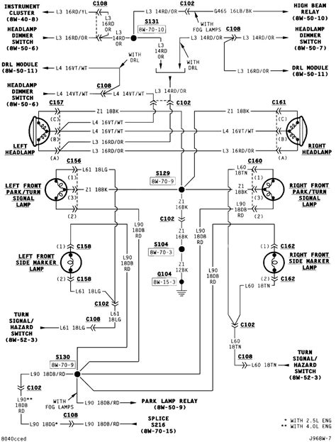1994 Wrangler Wiring Diagram by 1989 Jeep Wrangler Ignition Wiring Wiring Library