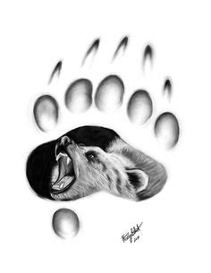 37 Best Bear paw tattoos images   Bear paw tattoos, Bear tattoos, Bear paws