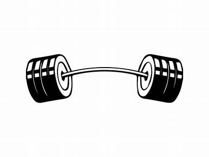 Barbell Clipart Equipment Workout Lifting Fitness Bodybuilding