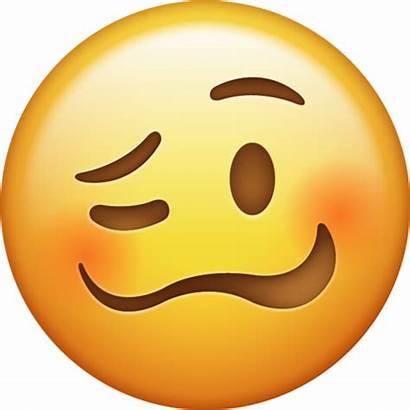 Emoji Face Emojis Drunk Woozy Faces Ios